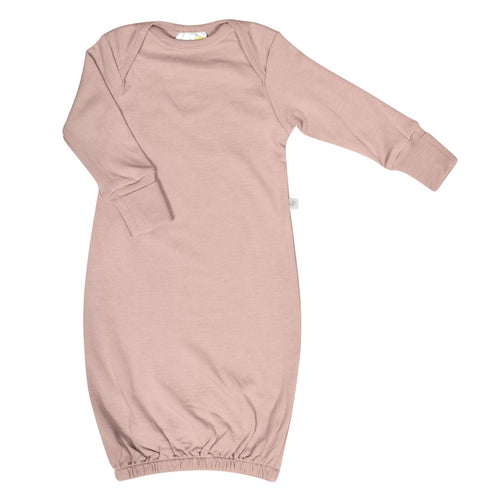 Perlimpinpin Bamboo Nightgown- Dusty Rose