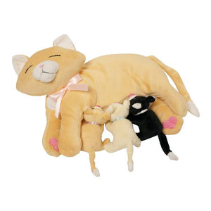 Nursing Nina Cat Plush