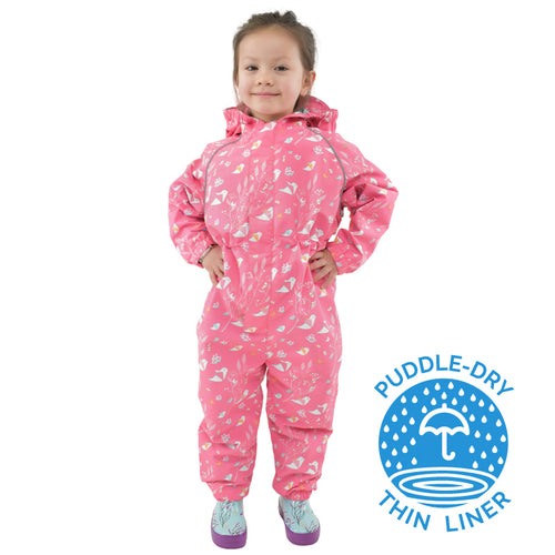 Jan & Jul Puddle Dry Waterproof Play Suit- Origami