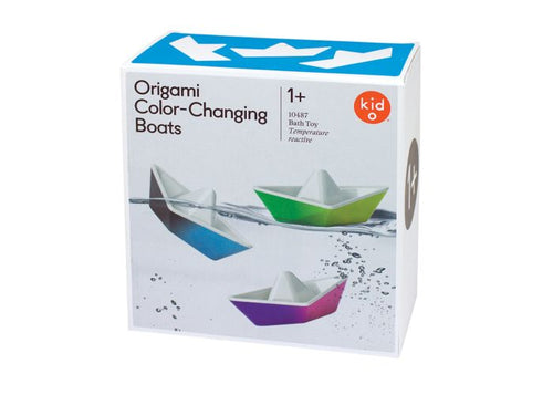 Kido Origami Colour Changing Boats