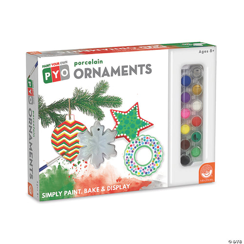 Paint-Your-Own Christmas Ornaments