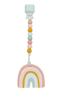 Loulou Lollipop Pastel Rainbow Teether Set