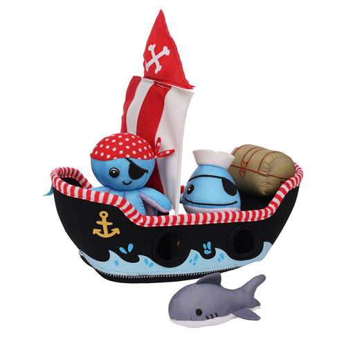 Pirate Ship Floating Fill n Spill Bath Toy