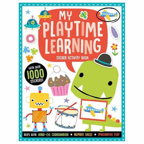 My Playtime Learning Sticker Activity Book