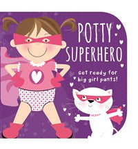 Potty Superhero Girl