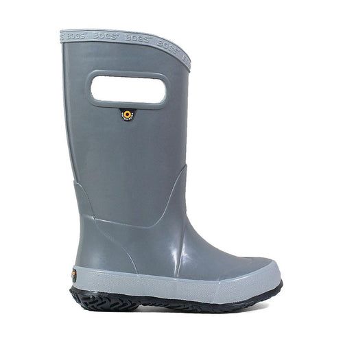 Bogs Kids Rainboot Solid Grey