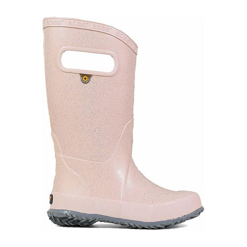 Bogs Kids Rainboot Rose Gold Glitter