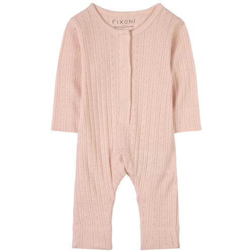 Fixoni Soft Rose Snap Romper