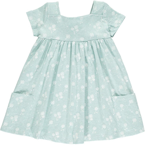 Vignette Rylie Teal Dandelion Dress