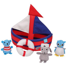 Load image into Gallery viewer, Sailboat Floating Fill n Spill Bath Toy