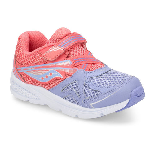 Saucony Baby Ride Sneaker Coral/Periwinkle 6M