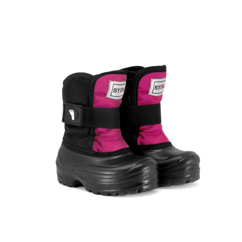 Stonz Winter Boots- Scout Pink/Black