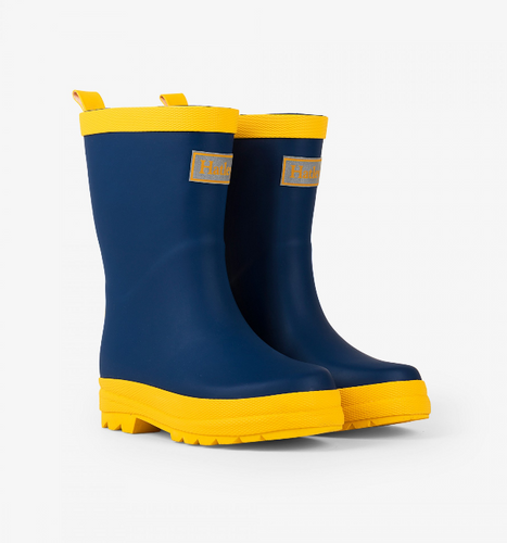 Hatley Navy & Yellow Rain Boot