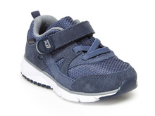 Load image into Gallery viewer, Stride Rite Ace Navy Toddler Shoe - M or W