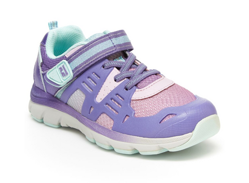 Stride Rite Ashton Purple Kids Shoe