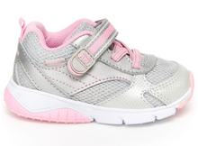 Load image into Gallery viewer, Stride Rite Indy Silver Toddler Shoe