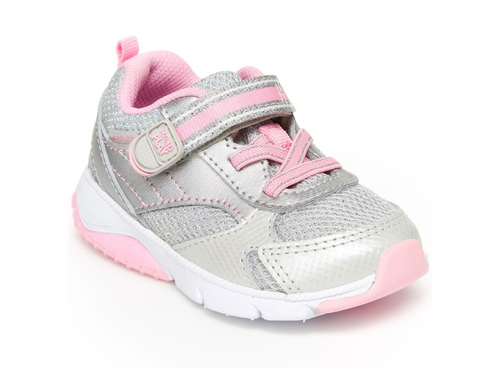Stride Rite Indy Silver Toddler Shoe - W