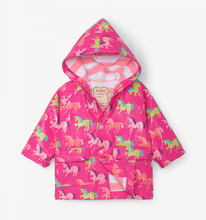 Load image into Gallery viewer, Hatley Unicorns Colour Changing Rain Jacket