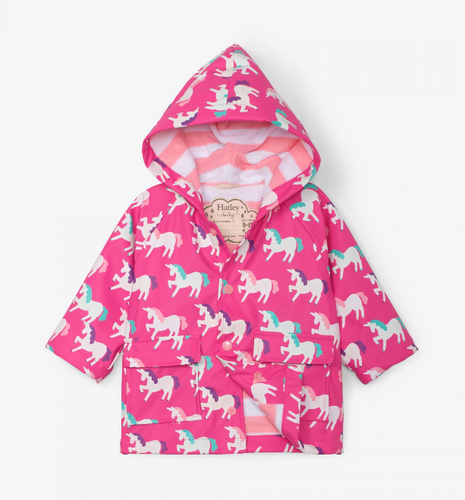 Hatley Unicorns Colour Changing Rain Jacket