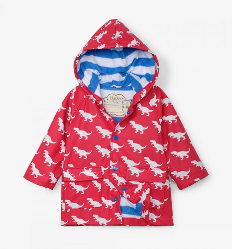 Hatley T Rex Colour Changing Rain Jacket