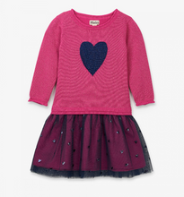 Load image into Gallery viewer, Hatley Pink Shimmer Heart Dress