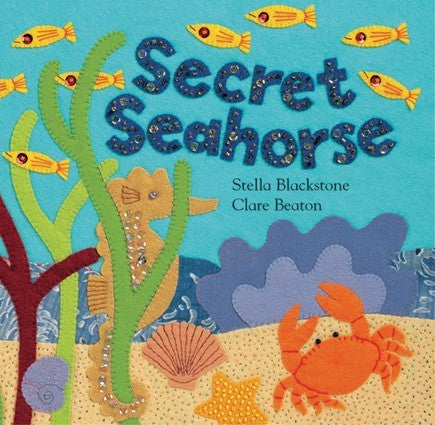 Secret Seahorse Board Book