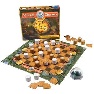 S'mores & More Checkers Game