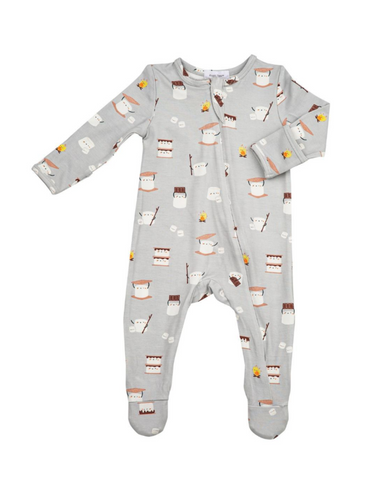 Angel Dear Smores Zipper Footie