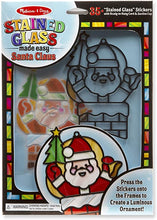 Load image into Gallery viewer, Stained Glass Santa Kit