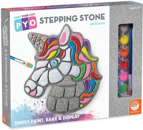 Paint-Your-Own Stepping Stone: Unicorn