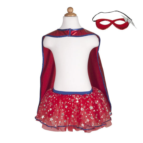 Superhero Tutu/Cape/Mask Set