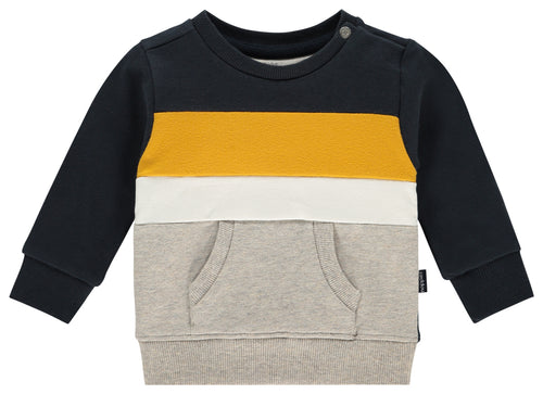 Noppies Ashland Navy Colour Block Sweatshirt