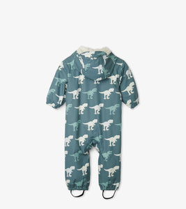 Hatley T-Rex Colour Changing Baby Bundler