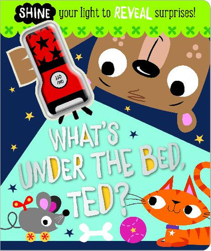 What's Under The Bed, Ted? Book