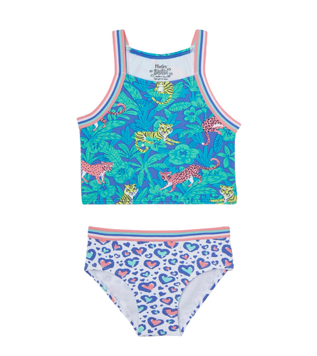 Hatley Jungle Cats Tankini Set
