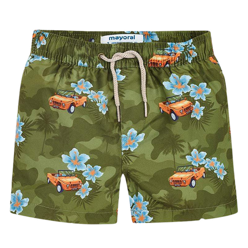 Mayoral Car Swim Shorts