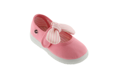 Victoria Shoes Mary Jane- Flamingo