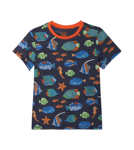 Hatley Bright Fish Graphic Tee