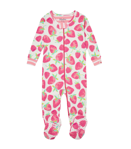 Hatley Delicious Berries Organic Cotton Coverall