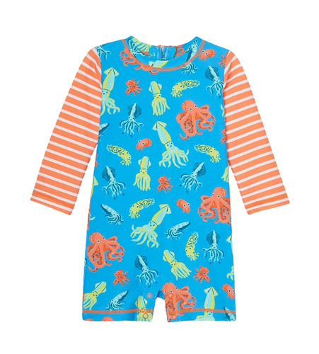 Hatley Colourful Octopuses Baby Rashguard