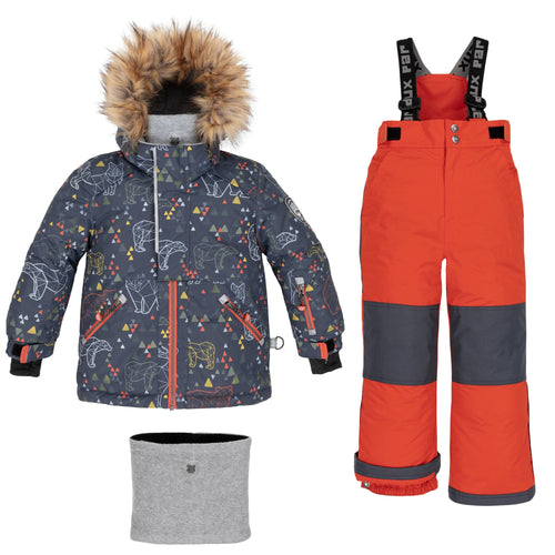 Deux Par Deux Ursa Major 2pc. Snowsuit