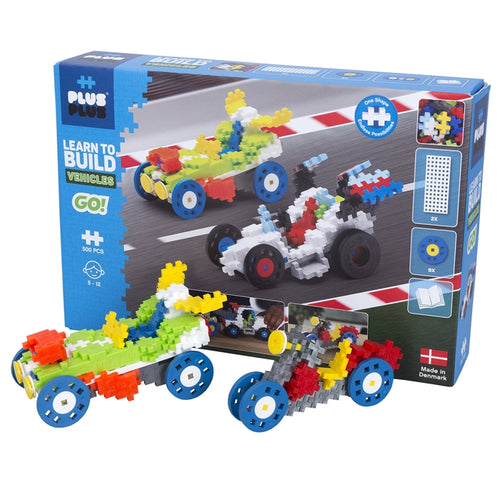 Plus Plus Learn to Build Go! Vehicles