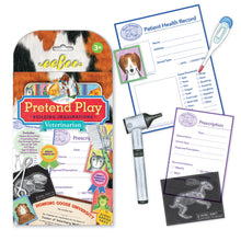 Load image into Gallery viewer, Veterinarian Pretend Play Activity Set