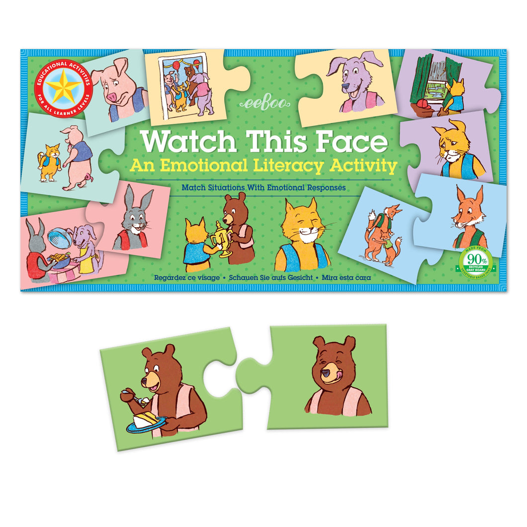 Watch This Face Emotion Puzzle
