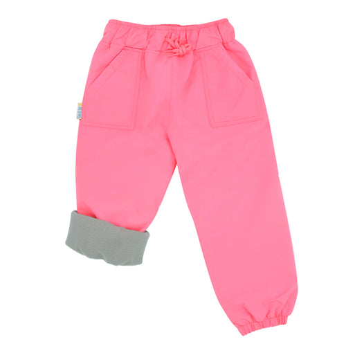 Jan&Jul Fleece Lined Splash Pant- Watermelon Pink