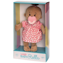 Load image into Gallery viewer, Wee Baby Stella Beige Brown Hair