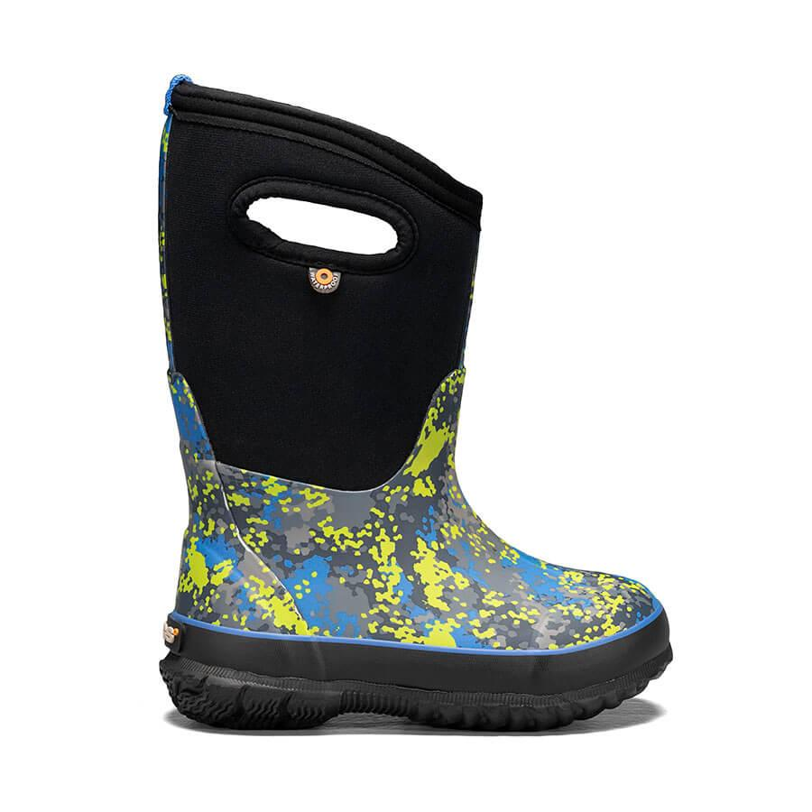 Bogs Classic Handle Winter Boot- Blue Camo