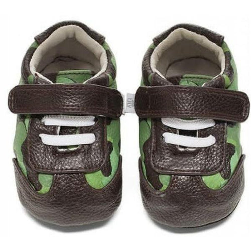 Jack & Lily Wyatt Camo Brown/Green 6-12m