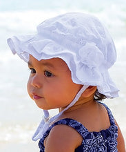 Load image into Gallery viewer, Millymook Baby Girls Bell Hat - Agapantha 12-24m