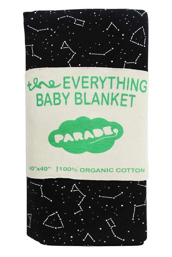 Parade - Everything Baby Blanket - Black Galaxy